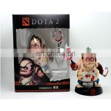 Plastic Dota 2 action figure toy plastic rude anime Pudge custom figure