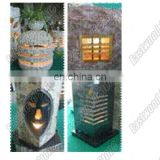 landscaping stone lamp post stone lantern 02