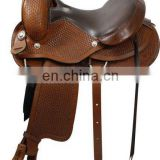 trail saddle - 2016 Custom Trail Saddle - WESTERN TRAIL HORSE BLACK LEATHER SADDLE