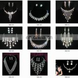 2016 new hot african fashion necklace and earrings,pendant sets Vintage gold jewelry sets for