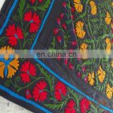 Indian uzbek suzani embroidered bed cover bed sheet SSTH-54