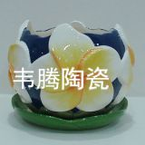 Top wholesale porcelain flower pot and saucer planter