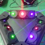 New disco light 9 eyes RGB moving head bird laser light