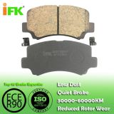 5584075F10/GDB3221 Semi-metallic/Low-metallic/NAO/Ceramic Disc brake pad manufacturer