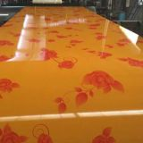 High Quality Prepainted Steel Coil With Flower Design