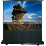 "60"" 4:3 Portable pull floor up projection screen"