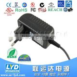 Made in China Plug In Connection and Game Player Usage 12v 1A ac /dc power adapter CE FCC SAA GS approval