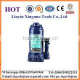 2016 arrival hot selling in China famous brand name Xingnuo 8-ton capacity hydraulic blue color bottle jack/hydraulic jack