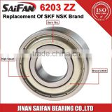 NMB NACHI Saifan Electric Motor Bearing 6203zz Deep Groove Ball Bearing 6203 2RS Motorcycle Bearing