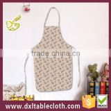 Anti oil Waterproof Printed plastic Bib kitchen Aprons kids/adult apron