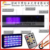 Full Spectrum Dimmable 120W LED Aquarium Reef Light, Marine Coral Reef Grow Lamp Aquarium Lighting