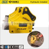 hydraulic breaker with 68mm chisel for 5 ton excavator backhoe loader