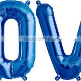 34 inch large love helium alphabet balloon letters for wedding