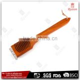 Wooden handle barbecue grill brush for outdoor                                                                                                         Supplier's Choice
