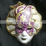 Plastic Handmade Fridge Magnet Mini Venice Mask