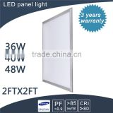 best material with pmma led 600x600 ceiling panel light zhongshan with ce tuv saa rohs iso9001
