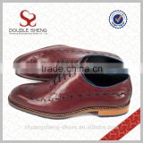Men rubber outsole material latest leather designer shoes