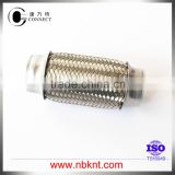 38mm Exhaust flexible tube with wire meshed or with braids