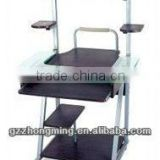 Modern Furniture Wooden and Glass Computer Table Models With Prices For School/Home WY-8121