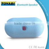 Wireless Bluetooth Speaker with Flashing LED light Pill-shape Design w/ Handsfree Mic FM radio and TF card