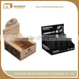 Veromca printing corrugated cardboard display for sunglasses