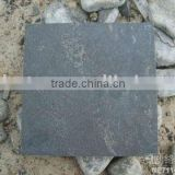china qingdao dark honed bluestone flooring tiles