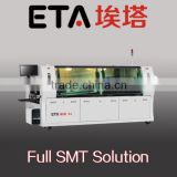 2015 SMT/SMD Reflow oven ,Reflow soldering machine wave soldering station With PC monitoring + PLC LED production line