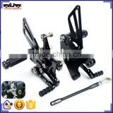 ARS-10R/11 Wholesale Billet Aluminum Motorcycle Rearset Replacement Parts for Kawasaki ZX10R 2011