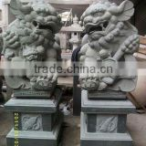 Chinese granite stone lion statue