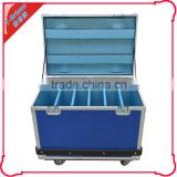 led display flight case widely use,1000 cd dvd aluminum storage case