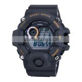 New Design Fashion Boy Watch With Auto Date Black Digital Waterproof Top Sports Watches Men
