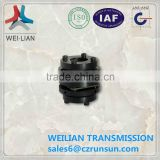 GL series flexible hydraulic pump servo motor disc coupling Weilian brand China supplier