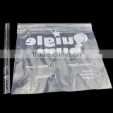 22x26cm white printing ldpe flat bag with self adhesive tape