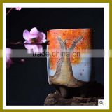 Antique elegant chinese style Ceramic Flower Vase Of Table Decoration for home ornaments decor