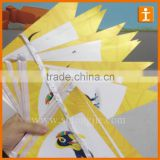 triangle bunting flag,paper bunting ,hanging triangle flag