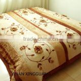velour fabric bed cover