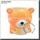 ceramic teddy bear planter