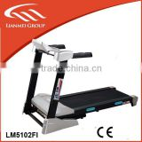 510mm running space fitness equipment foldable Motorized Commercial Treadmill with MP3,USB port