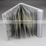 Luxury PU leather photo album customized manufacturer
