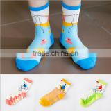 Bicycle Cartoon Socks,Christmas Socks, Lovely People Socks, Sneaker Socks ,Colorful Ankle Socks, Women Socks,Casual Socks,