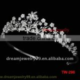 Womens Rhinestone Crown For Hairband Vintage Crystal Bridal Tiara For Wedding Accessory Party Flower
