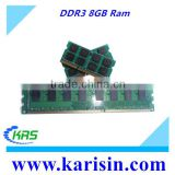 Factory price ddr 1066/1333/ 1600 mhz 8gb memory ram with ETT original chips