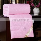 wholesales fashion handmade chinese 100% natural silk bedding quilt