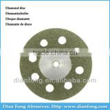 Bm19D20 19mm Flexible Miniature Perforated Dental Full Coated Diamond Disc Diamond Polishing Discs