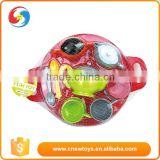 Net Packing plastic colorful disc tableware preschool educational toys