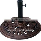 cast iron umbrella base,umbrella stand