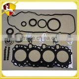Top performance auto parts engine full gasket set for TOYOTA LANDCRUISER 2KD full gasket