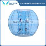 2016 blue inflatable ball person inside,inflatable human bubble ball