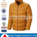 china suppliers new product wholesales clothing apparel & fashion jackets men full zip Men's goose down jacket