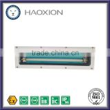 T8 tube fixture IP65 2x18w explosion proof fluorescent light